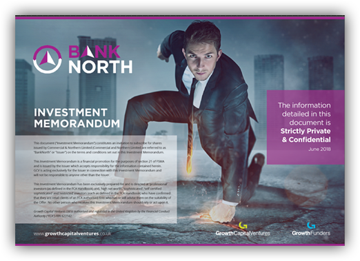 BankNorth Investment Memorandum